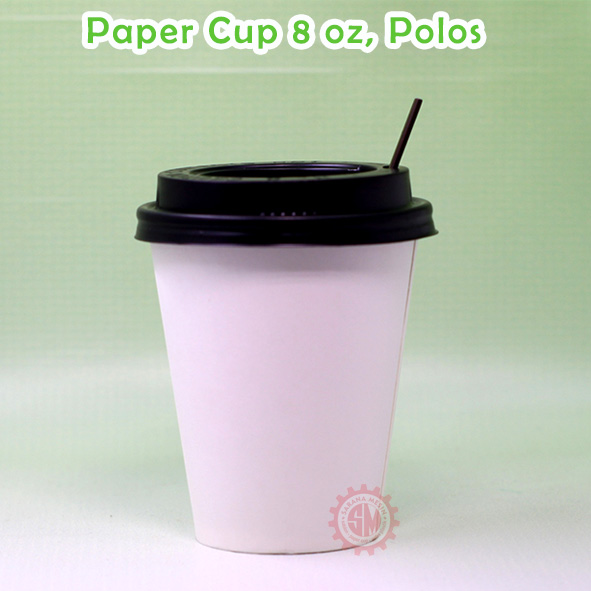paper cup 8 oz polos