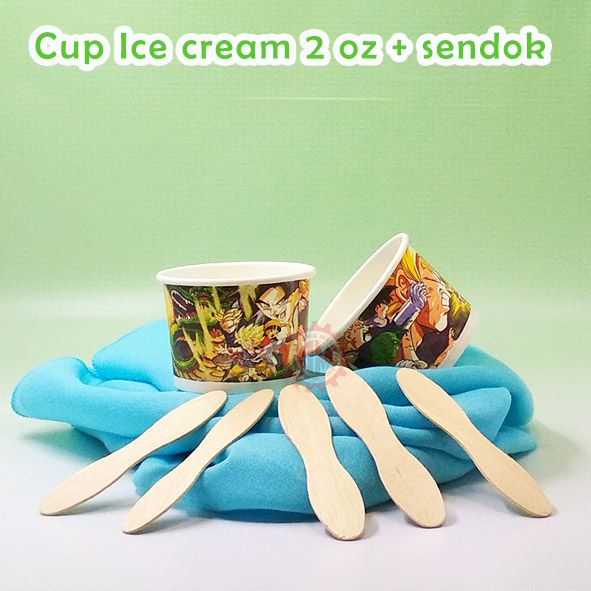 paper Cup Ice Cream 2 oz